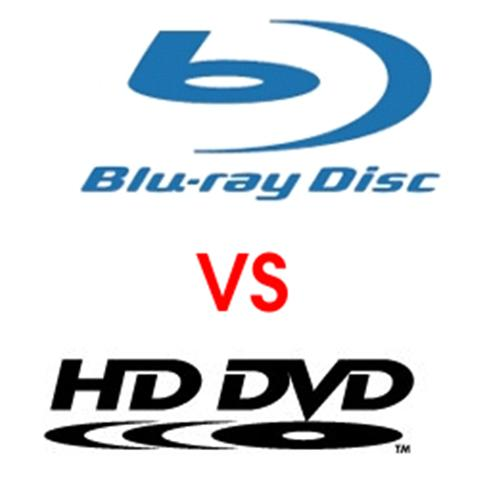 Blue Ray HD DVD